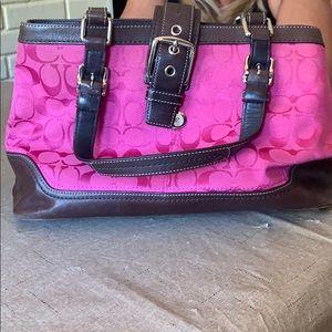 Pink Coach Bag